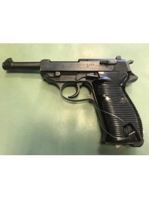 Walther jeklena rabljena pištola, model: P 38, kal.9mm para (vtisjen nemški orel)  (REZERVIRANO P.) (šifra: 004956)