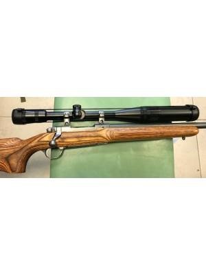 Ruger rabljena enostrelna repetirna risanica, model: M77 Mark II, kal. 6mm PPC + strelni daljnogled Bausch & Lom 6-24x40