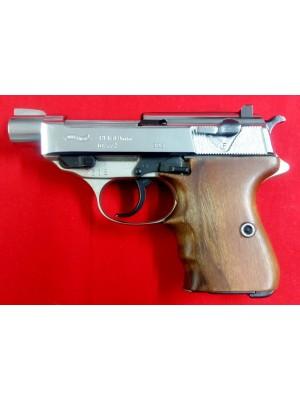 Walther rabljena polavtomatska pištola, model: P1 - 10/77, kal. 9mm Luger
