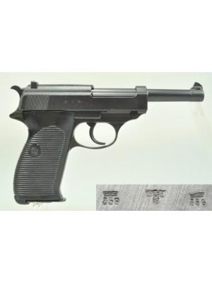 Walther rabljena pištola, model: P38, kal. 9mm para (iz leta 1942)  (šifra: 005146)