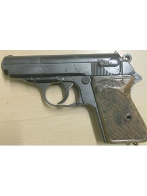 Walther Zela Mehlis rabljena zbirateljska pištola, model: PPK, kal. 7,65 mm