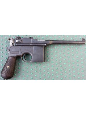 Mauser rabljena zbirateljska pištola, model: C96, kal. 7,63 Mauser (NUMMERNGLEICH - VSE SERIJSKE ENAKE)