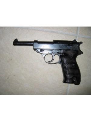 Walther rabljena jeklena zbirateljska pištola, model: P38, kal. 9mm para (NUMMERNGLEICH) (šifra: 005127)