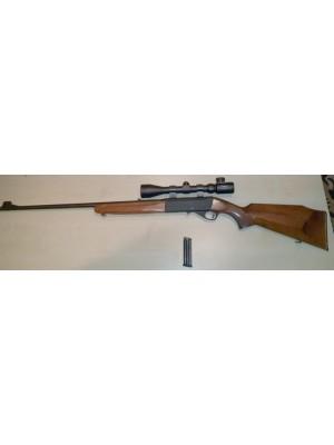 Anschutz rabljena polavtomatska mk risanica, model: 522, kal. 22 LR + strel.dalj. 3-9x40 (005591)