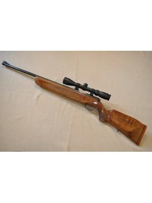 Walther rabljena enostrelna mk risanica, kal. 22 LR + montaža + strelni variabilni daljnogled Hubertus 3-9x40 (šifra: 005797)