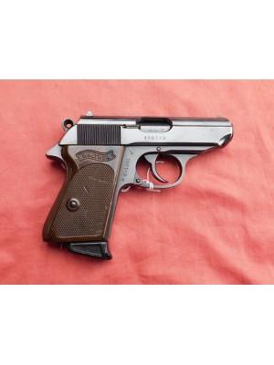 Walther rabljena polavtomatska pištola, model: PPK, kal. 7,65mm (šifra: 005812)