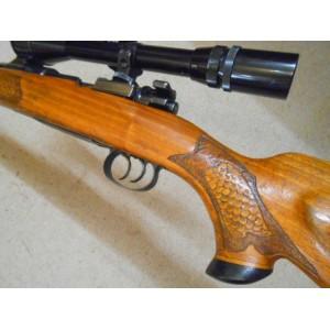 PRIHAJA!!! Mauser rabljena repetirna risanica, model: 98, kal. 243 Win. + strelni variabilni daljnogled Hubertus 3-9x40