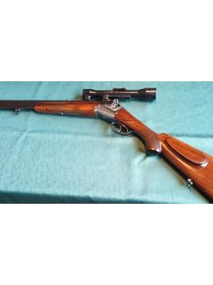 Merkel rabljena kombinirana puška, model: 210, kal. 8x57 JRS in 16/70 + SEM montaža + ZEISS strel.daljn.