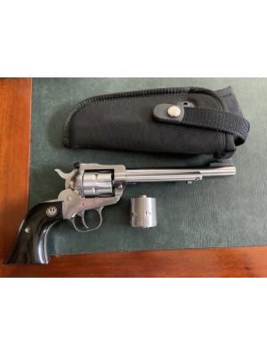 PRIHAJA!!! Ruger rabljeni mk revolver, model: Single Six, kal. 22 LR + menjalni boben kal. 22 Magnum (REZERVIRANO J.J.)