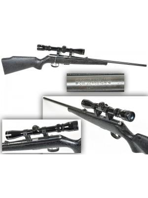 Anschutz rabljena mk risanica, model: 1516, kal. 22 Magnum + strelni daljnogled + montaža