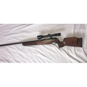 Walther rabljena enostrelna repetirna risanica, kal. 22 LR + SEM montaža + Kahles variabilni strel.daljn. 3-9x40 (križ: 4) (006072)