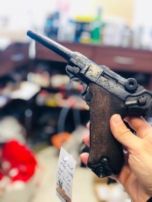 Luger rabljena zbirateljska pištola, model: P08, kal. 9mm para (letnik: 1916) (slogun šifra: 005112)