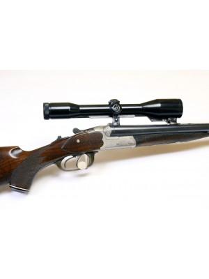 P. Oberhammer rabljeni driling, kal. 5,6x50 R Magnum + 16/65 + SEM montaža + Zeiss strel.daljn. 6x42
