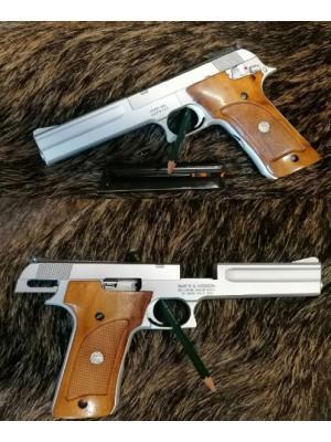 """PRIHAJA!!! Smith & Wesson rabljena tekmovalna mk pištola, model: 622 Target Champion, kal. 22 LR (6"""" cev)"""