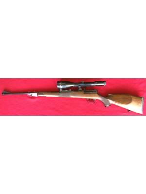 Mauser rabljena repetirna risanica, model: 66, kal. 7x64 + SEM montaža + strel.daljn. Zeiss 8x56