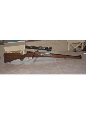 Mauser rabljena repetirna risanica ŠTUC, model: 66, kal. 7x64 + SEM montaža + variabilni strel.daljn. Zeiss 1,5-6x42 (križ: 4)