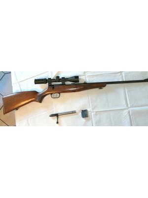 Krico rabljena mk risanica, kal. 22 Magnum + montaža + strel.daljn. Weaver 3-9x40