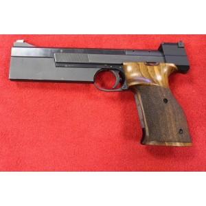 """PRIHAJA!!! Hammerli rabljena tekmovalna mk pištola, model: 208 International, kal. 22 LR (6"""" cev)"""