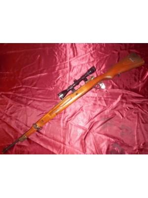 PRIHAJA!!! Mauser rabljena risanica, model: K98, kal. 8x57 JS + montaža + strel.daljn. Tasco 6x40