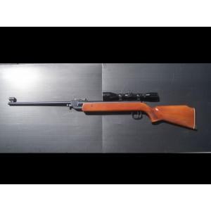 PRIHAJA!!! Anschutz rabljena zračna puška, model: 335, kal. 4,5 mm + montaža + strel.daljn. Nickel 4-10x40