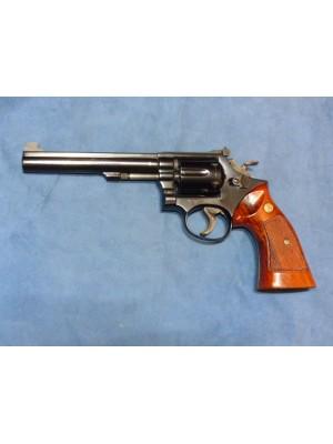 """PRIHAJA TOP PONUDBA!!! Smith & Wesson rabljeni tekmovalni revolver, model: 14-3, kal. 38 Special (6"""" cev)"""