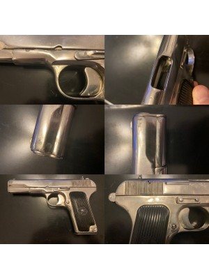 PRIHAJA!!! Tokarev TT rabljena pištola, model: M1930, kal. 7,62x25 (KROMIRANA PIŠTOLA!)