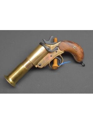 Rabljena signalna Britanska pištola SPRA MKIII iz mesinga za marince, kal. 4 / 26,5 mm (PRELAMAČA) (šifra: 006254)