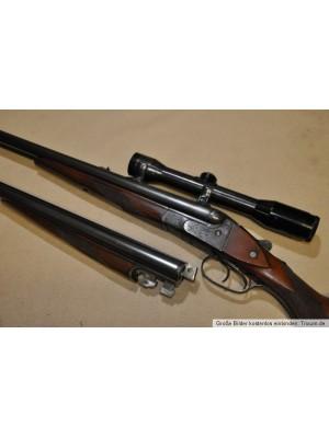 PRIHAJA TOP PONUDBA!!! Sauer & Sohn rabljena kombinirana puška s priveznjenimi cevmi, kal. 16/70 + 7x57R in menjalne cevi 16/70