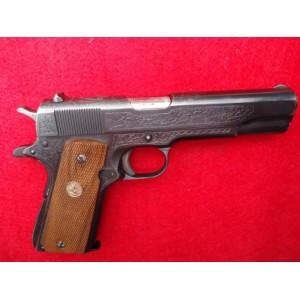 PRIHAJA TOP PONUDBA!!! Remington rabljena polavtomatska pištola, model: 1911 A1, kal. 45 ACP (US PROPERTY iz leta 1943 z gravurami)