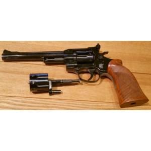 """PRIHAJA!!! Weihrauch rabljeni mk revolver, model: HW 7, kal. 22 LR + menjalni bobenček 22 Magnum (6"""" cev)"""