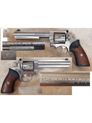 """PRIHAJA TOP PONUDBA!!! Ruger rabljeni STAINLESS revolver, model: GP 100, kal. 357 Magnum (6"""" cev)"""
