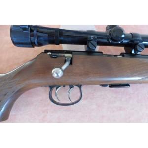 PRIHAJA!!! Anschutz rabljena ŠTUC mk risanica, model: 1418, kal. 22 LR + montaža + strel.daljn. Hunter 4x33