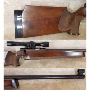 PRIHAJA!!! Anschutz rabljena tekmovalna ENOSTRELNA mk risanica, model: 1407, kal. 22 LR + montaža + strel.daljn.