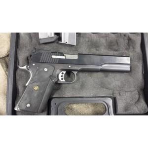 """PRIHAJA TOP PONUDBA!!! Peters Stahl rabljena tekmovalna PA pištola, kal. 9x19 (6"""" cev)"""