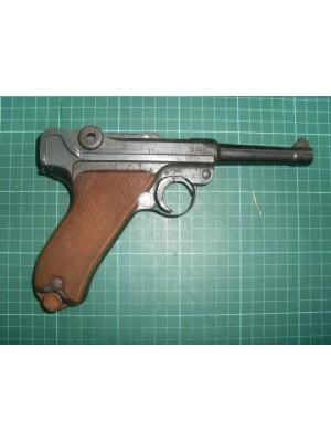 PRIHAJA!!! Luger DWM rabljena zbirateljska pištola, model: P08, kal. 9x19 (letnik: 1913) NUMMERNGLEICH