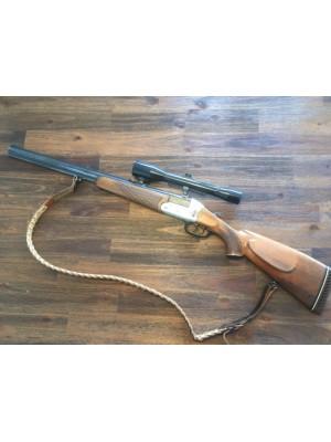 PRIHAJA!!! HEYM rabljena kombinirana puška, model: 22 F, kal. 222 Rem. in 16/70 + streln.daljn. 6x42