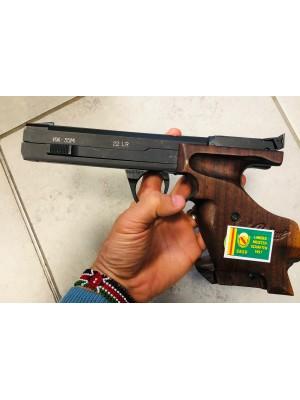 Baikal rabljena tekmovalna mk pištola, model: IJ 35, kal. 22 LR (šifra slogun: 006309)