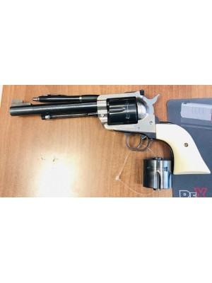 Ruger rabljeni revolver, model: New model Blackhawk, kal. .357 Mag. + menjalni boben 9mm para (šifra slogun: 006310)