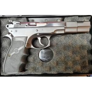 """PRIHAJA!!! CZ rabljena tekmovalna pištola, model: 75 Sport, kal. 9x19 (6"""" cev) (šifra slogun: 54)"""