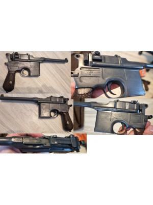 PRIHAJA!!!  Mauser rabljena zbirateljska pištola, model: C96, kal. 7,63 Mauser (šifra slogun: 50)