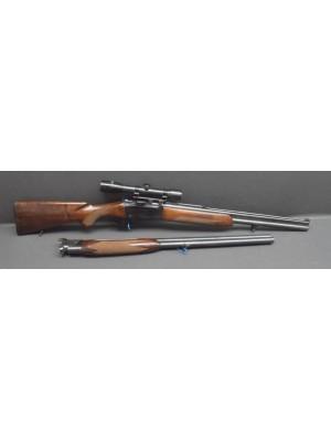 PRIHAJA!!! CZ Češka Zbrojovka rabljena kombinirka, model: ZH204, kal. 12 in 7x57R + menjalne cevi 12/12 + strelni daljnogled Kahles  (šifra slogun: 66)