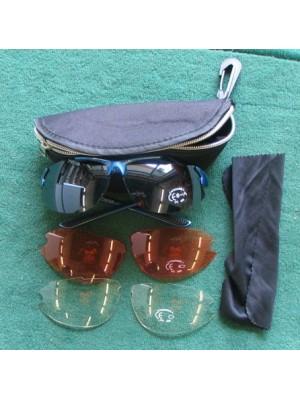 Rabljena strelska očala Speq za trap, skeet,...s 3 pari leč