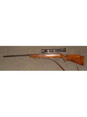 Anschutz rabljena malokalibrska puška, model: 1516, kal.22 Mag. + strelni daljnogled 4x28