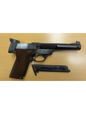 High Standard rabljena malokalibrska polavtomatska pištola, model: Supermatic Trophy, kal.22LR