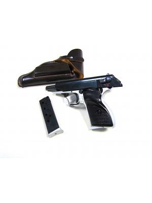 Hege rabljena polavtomatska pištola, model: PP, kal. 7,65mm (dvo barvna izvedba) - kopija Walther PP