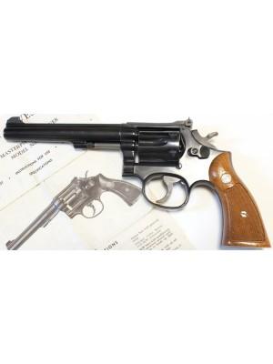 """Smith&Wesson rabljeni revolver, model: 17-4, kal. 22 LR s 6"""" cevjo (rezervirano Ž.Š.)"""
