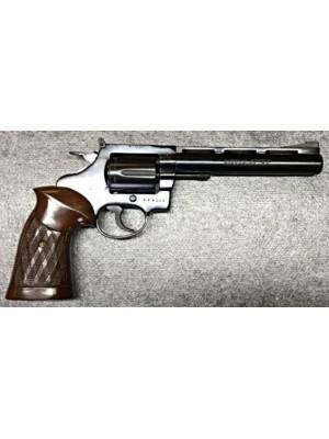 """Squires Bingham rabljeni malokalibrski revolver, model: 100 D, kal. 22LR s 6"""" cevjo"""