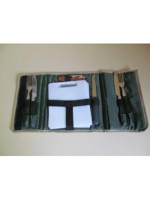 PRIHAJA!!! Prenosljivi jedilni pribor za 2 osebi