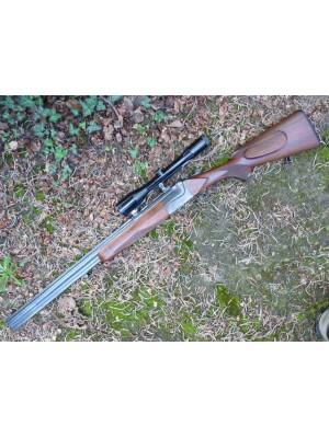 Merkel rabljena kombinirana puška, kal. 7x65R in 12/70 + strelni daljnogled Zeiss 6x42 (križ: ABS 4) (REZERVIRANO F.T.)
