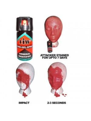 Barvni gel v sprayu 40ml za osebno zaščito - za kasnejšo identifikacijo napadalca
